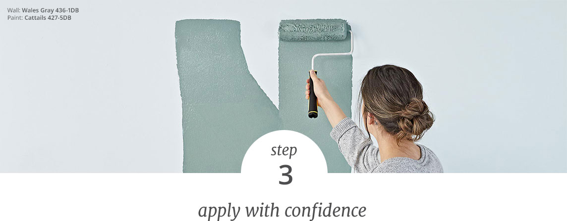 Step 3 - apply with confidence