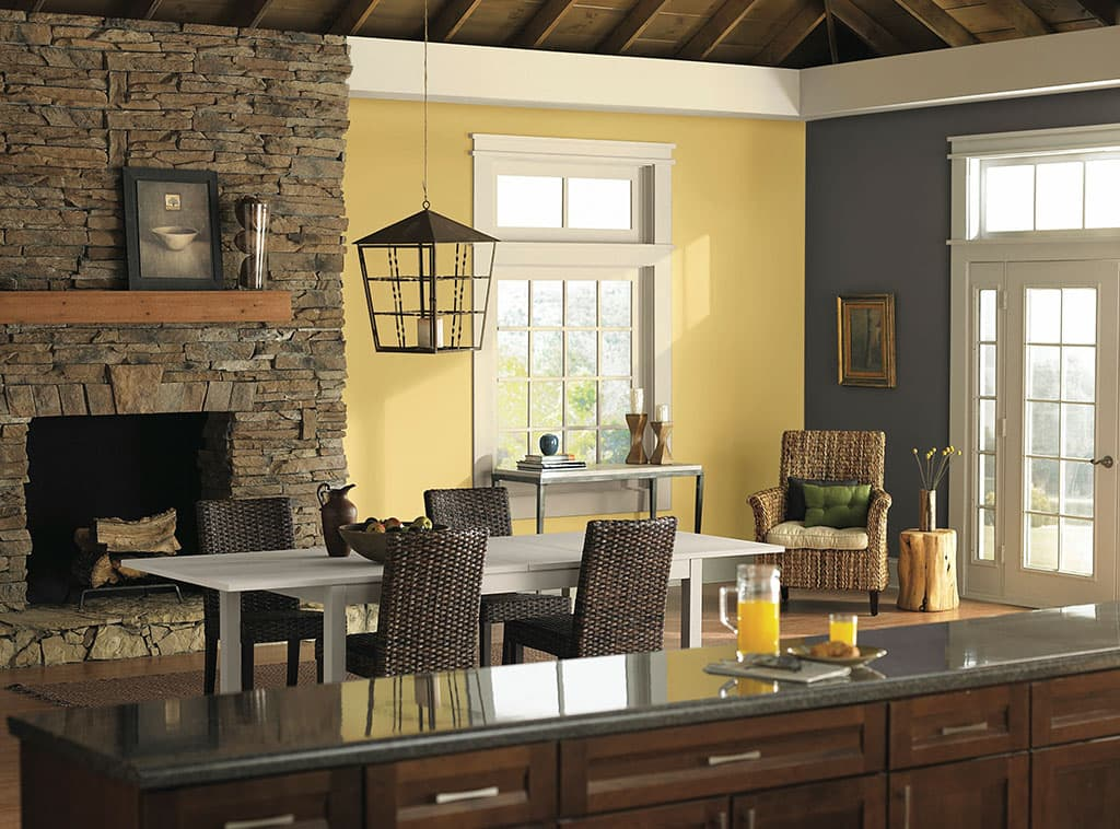 Country Warmth Dining Room Interiors Room Scenes