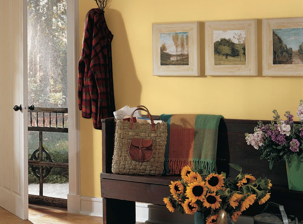 country greeting yellow color room scenes. Black Bedroom Furniture Sets. Home Design Ideas