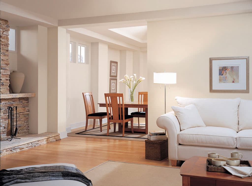 Comforts Of Home White Color Room Scenes