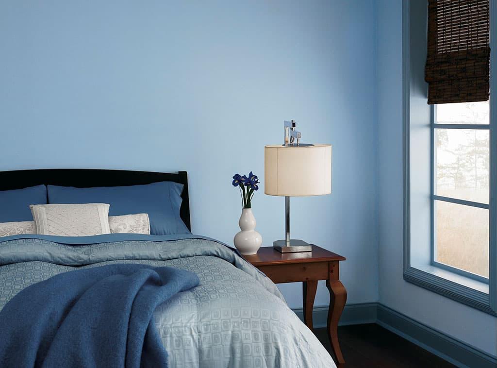 Blue State Serene Amp Peaceful Style Room Scenes