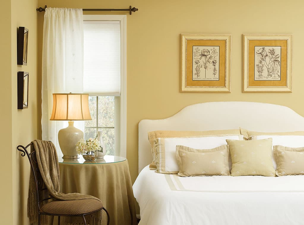 morning gold bedroom interiors room scenes