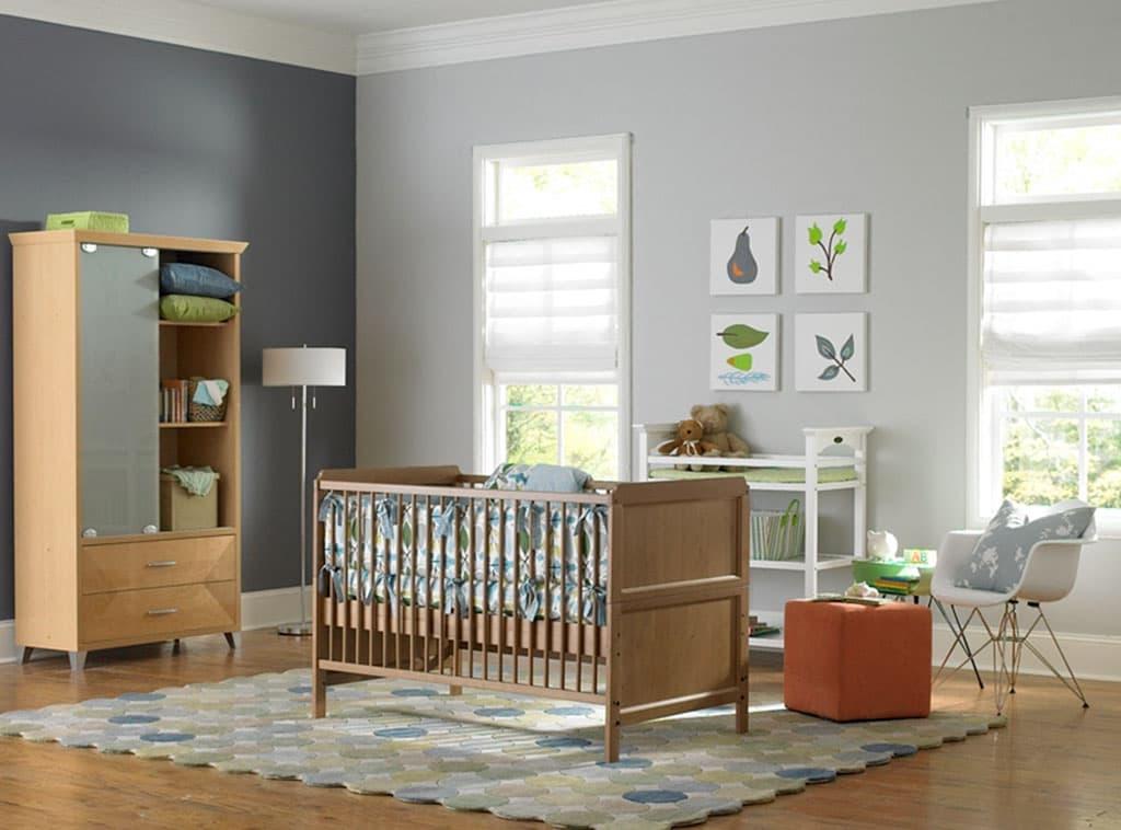 Softer Side Of Gray Nursery Kids Room Scenes
